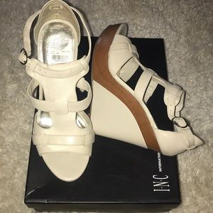 NEW INC Wedge Never Worn Size 8